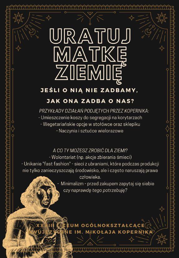 Plakat EKOpenik Miejsce I